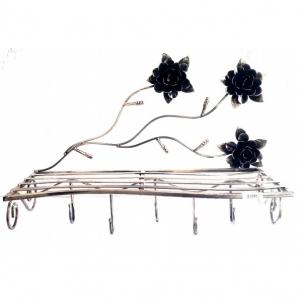 Drabužių kabykla 90-0916 Kalviški gėlių stovai ir kitos interjero puošmenos