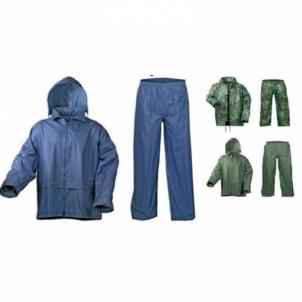 Drabužių komplektas nuo lietaus su paslėptu gobtuvu Darba tērpi