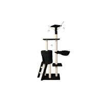 Draskyklė katėms, 138 cm, Vangaloo. juoda Игрушки для кошек