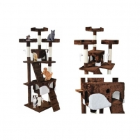 Draskyklė katėms, 170 cm, ruda - Vangaloo Игрушки для кошек