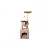 Draskyklė katėms, Vangaloo, 90 cm, kreminė Žaislai katėms