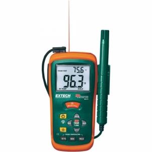 Drėgmės matuoklis Extech RH101 InfraRed Thermometer & Drėgmės matuokliai