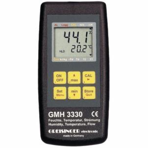Drėgmės matuoklis Greisinger GMH 3330 Thermo- Drėgmės matuokliai