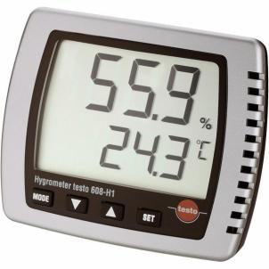 Drėgmės matuoklis Testo 608-H1 Thermo- Drėgmės matuokliai
