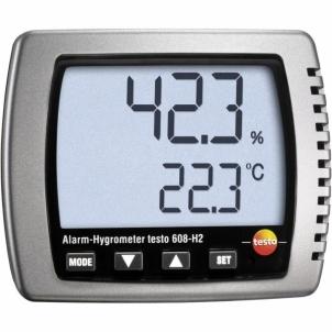 Drėgmės matuoklis Testo 608-H2 Thermo- Monitor Drėgmės matuokliai