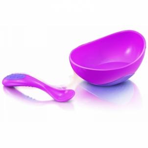 Dubenėlis 1 pack PP bowl for microware spoon Kūdikių maitinimui