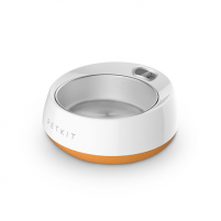 Dubenėlis šuniui PETKIT Smart Pet Bowl Fresh Metal Coral Orange Trauki suņiem