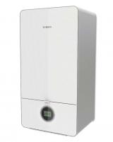 Dujinis kondensacinis katilas Bosch Condens, GC 7000iW, 24/28C, momentinis vandens ruošimas, baltas Gas-fired condensing boilers