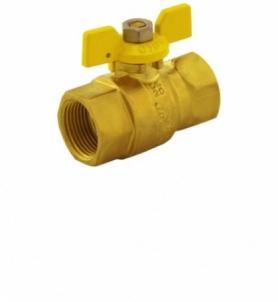 Dujinis ventilius trumpa rankena 15 v/v CH Rutuliniai ventiliai dujoms