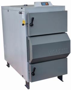 Dujų generacinis kieto kuro katilas VIGAS 100S (25-100 kW) AK3000 kairės pusės A traditional solid fuel boilers