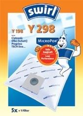 Dulkių siurblio filtras SWIRL Y298/5 MP1  Dulkių siurblių priedai
