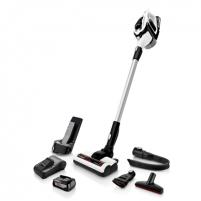 Dulkių siurblys Bosch Vacuum cleaner BBS812PCK Handstick 2in1, 35 min, 0.4 L, White, Li-Ion, Warranty 24 month(s), Battery warranty 24 month(s)