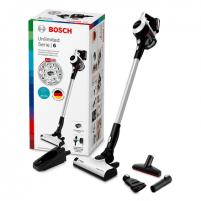 Dulkių siurblys Bosch Vacuum cleaner BCS611AM Handstick 2in1, 30 min, 0.3 L, White, Li-Ion, Warranty 24 month(s), Battery warranty 24 month(s) Пылесосы