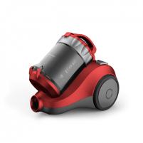 Dulkių siurblys DAEWOO Vacuum Cleaner RCH-120R Bagless, Red, 800 W, 2 L, E, A, E, E, 84 dB, HEPA filtration system,
