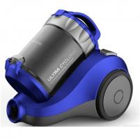 Dulkių siurblys DAEWOO Vacuum Cleaner RCH-120S Bagless, Blue, 800 W, 2 L, E, A, E, E, 84 dB, HEPA filtration system,