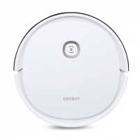 Vacuum cleaner Ecovacs Vacuum cleaner DEEBOT U2 Robot, 110 min, 0.4 L, 66 dB, Wet & Dry, White, Lithium Ion