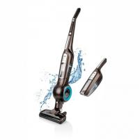 Vacuum cleaner ETA Aqualio ETA144890000 Warranty 24 month(s), Handstick 2in1, Brown, 130 W, 0.47 L, 83 dB, HEPA filtration system, Cordless, 50 min, 25.2 V