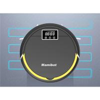 Dulkių siurblys Mamibot Vacuum cleaner robot for pet hair cleaning Petvac300 Bagless, Black, 0.4 L, Cordless, 100 - 120 min