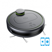 Vacuum cleaner Moneual Robot vacuum cleaner Mbot900 Robot, Black, 0.4 L, Cordless, 120 min Vacuum cleaners