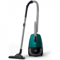 Vacuum cleaner Philips PowerGo vacuum cleaner FC8246/09 Bagged, Opal Green, 750 W, 3 L, AAA, A, D, A, 77 dB,