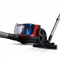 Dulkių siurblys Philips Vacuum cleaner PowerPro Compact FC9330/09 Bagless, Red, 650 W, 1.5 L, AAA, E, C, A, 76 dB,