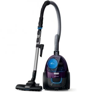 Dulkių siurblys Philips Vacuum cleaner PowerPro Compact FC9333/09 Bagless, Purple, 650 W, 1.5 L, AAA, A, C, A, 79 dB,
