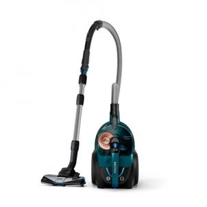 Dulkių siurblys Philips Vacuum cleaner PowerPro Expert FC9744/09 Bagless, Opal green, 650 W, 2 L, A+, A, C, A, 76 dB,