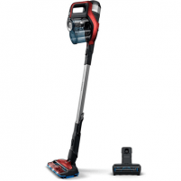Dulkių siurblys Philips Vacuum cleaner SpeedPro Max FC6823/01 Handstick 2in1, 65 min, 0.6 L, 84 dB, Red/Black