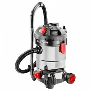 DULKIŲ SIURBLYS PRAMONINIS GRAPHITE 59G607, 1500 W Pumping equipment