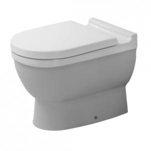 Duravit Starck3 actable toilet withaut tank