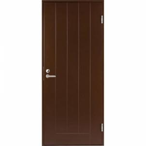Durvis BASIC B0010 brūns pievienot tiesības 890x2090 mm