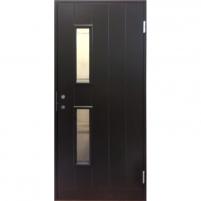 Durys BASIC B028W9 rudos dešininės 890x2090 mm