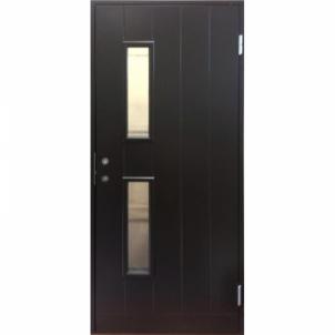 Durys BASIC B028W9 rudos kairinės 990x2090 mm