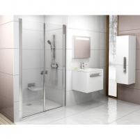 Dušo durys Chrome CSDL2 90,100,110,120x195CM Shower wall