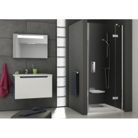 Dušo durys SmartLine SMSD2 90,100,110,120x190CM Dušo sienelės, durys