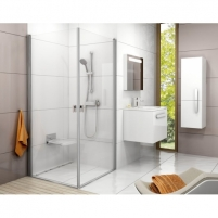 Shower enclosures Chrome CRV1 + CRV1 80,90,100X195cm