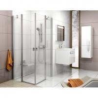 Shower enclosures Chrome CRV2 + CRV2 80,90,100,110,120X195cm Shower enclosures