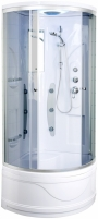 Shower enclosures Duschy 92x92x217 cm tamsinto stiklo