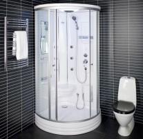 Shower enclosures Duschy ketursienė su masažu 103x103x217cm LED