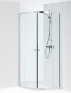 Shower enclosures IFO SILVER KVARTSRUND 90x90 pusapvalė Shower enclosures