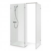 Shower enclosures Liza 150x90 150x80-100(nestandartinis) cm Shower enclosures
