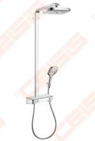 Dušo komplektas HANSGROHE Raindance Select E 300 2jet su termostatiniu maišytuvu