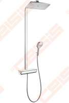 Dušo komplektas HANSGROHE Raindance Select E360 1jet su termostatiniu maišytuvu