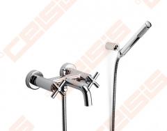 Dušo komplektas ROCA Loft su vonios/dušo maišytuvu Dušo maišytuvai