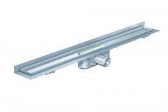 Dušo latakas Aco ShowerDrain C, 685, aukštis 65 mm, su ruošiniu plytelėms, vertikali jungė Shower drains