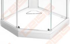 Dušo padėklas IDO Showerama 8-5 100x100, baltas Dušo maišytuvai