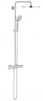 Dušo sistema Euphoria XXL 310 , termostatinė 110mm rankinis dušas, 310mm dušo galva, chromas