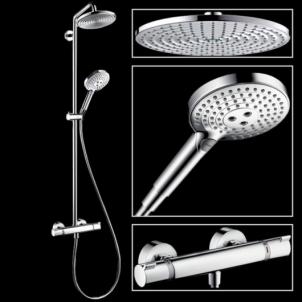 Dušo sistema Raindance Select240 Showerpipe 27115000 Dušas sistēmas