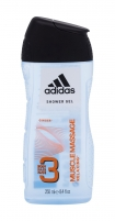 Dušo želė Adidas 3in1 Muscle Massage Shower Gel 250ml
