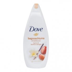 Dušo žele Dove Purely Pampering Caring Bath Shea Butter Cosmetic 700ml Bath salt, oils